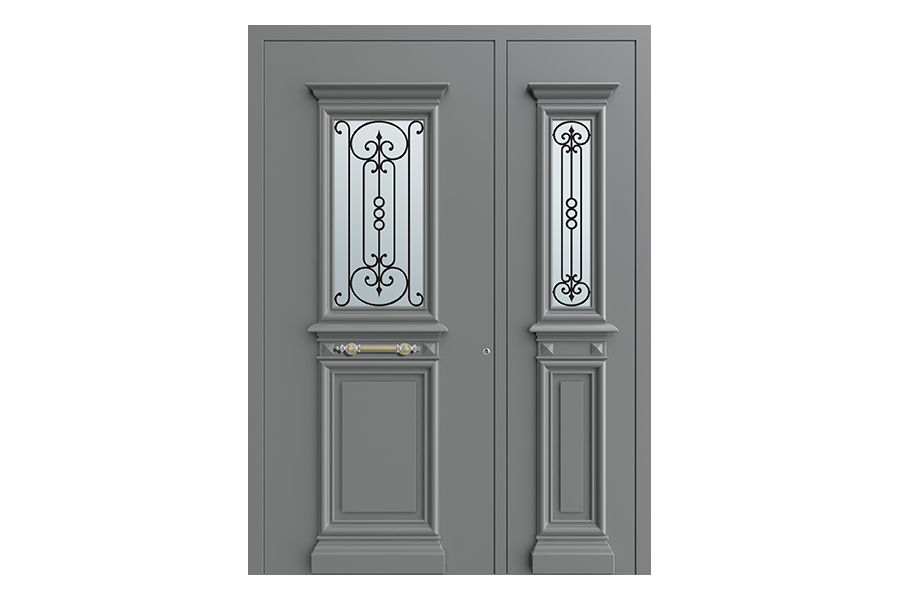 LD 210 Schüco Aluminium Tür