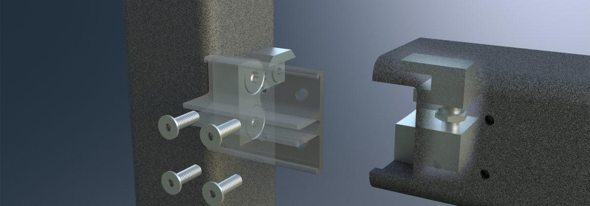 Neuer T-Verbinder Schueco Fenstersysteme-AWS