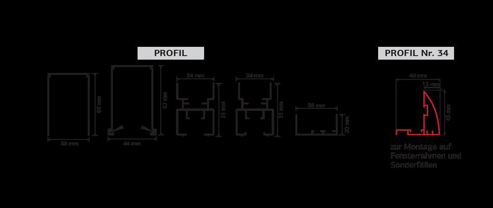 Plisse 44 Profile