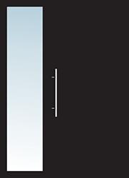 Aluminium Tür Varianten Typ 11