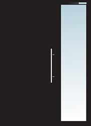 Aluminium Tür Varianten Typ 12