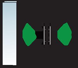 Aluminium Tür Varianten Typ 15