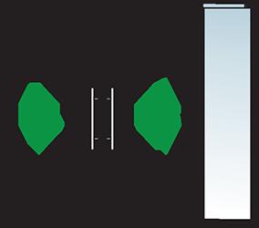 Aluminium Tür Varianten Typ 16